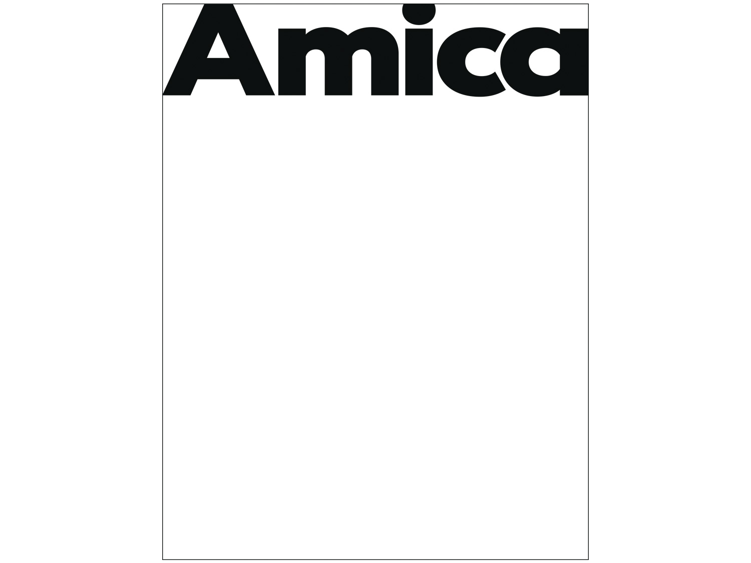 8/31 – Amica magazine redesign at Chandelier Creative