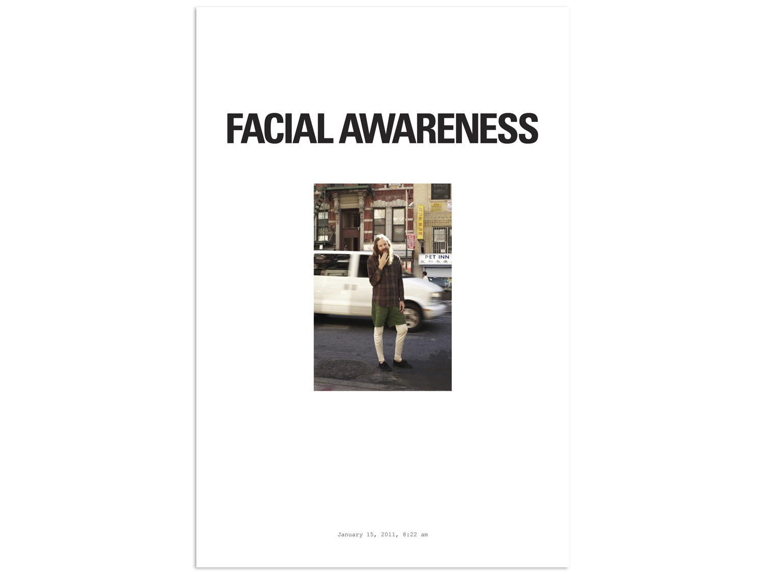 12/31 – Facial Awareness