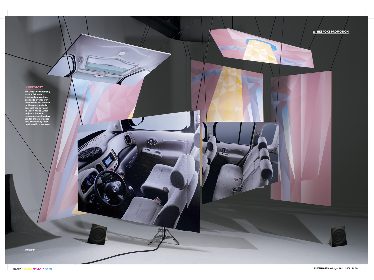 29/31 – Nissan Cube campaign at Wallpaper*, photo: Grégoire Alexandre